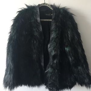 Balmain Jackets & Coats - Balmain x H&M faux fur coat